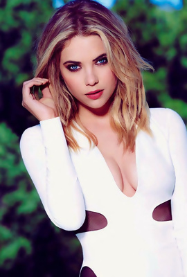 American star Ashley Benson modeling