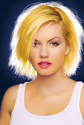 Divine pictures with Elisha Cuthbert