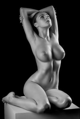 Nude Black and white photos for your pleasure