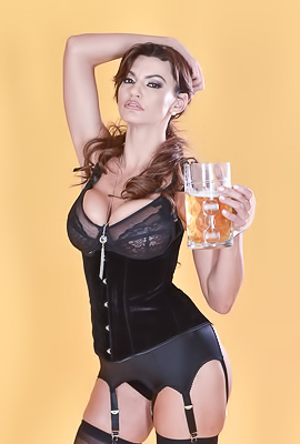 Busty Becky Bandini Loves Beer And Dicks