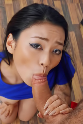 Rae Lil Black Luckily Gets A Huge Cock