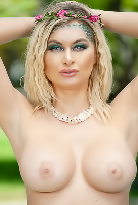 Hot Blonde Natalia Starr With Best Breasts